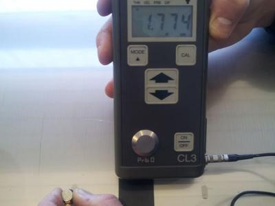 checking of thickness from stainless steel coil - Taferner Stahlhandel e.U.