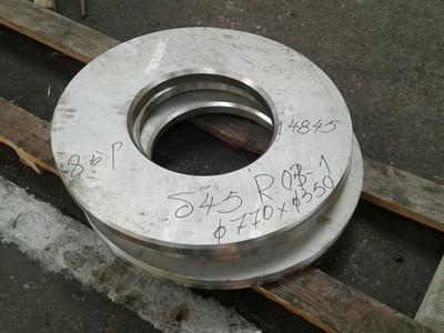 Ringe in 1.4845 aus Blech gebrannt - Taferner Stahlhandel e.U.